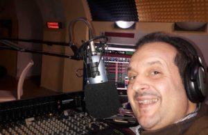 Antonio Guerini, speaker di Radio Onda Verde
