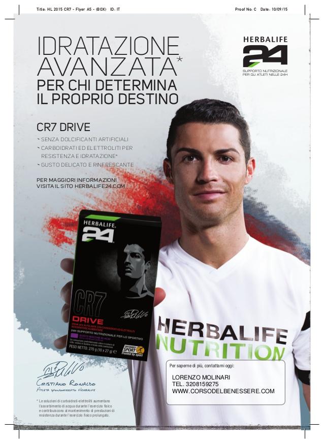 Herbalife h24 con Ronaldo