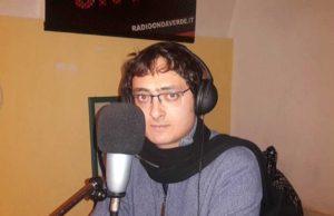 Nicola Galloro, speaker di Radio Onda Verde