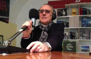 Nicolino la Gamba, speaker di Radio Onda Verde